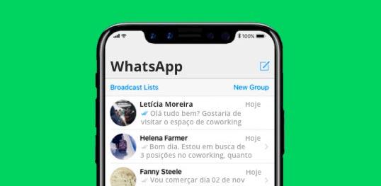 escritório virtual whatsapp